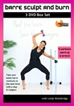 Barlates Body Blitz Barre Sculpt and Burn - 11 Workouts with Linda Wooldridge