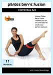 Pilates Barre Fusion 3 DVD Set - Linda Wooldridge