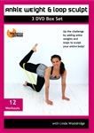 Ankle Weights and Loop 3 DVD Set - Linda Wooldridge