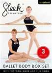 Sleek Technique Ballet Body 3 DVD Set