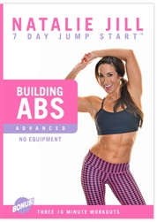 Natalie Jill 7 Day Jumpstart Total Bodyweight Building Abs DVD
