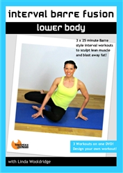 Interval Barre Fusion Lower Body - Linda Wooldridge