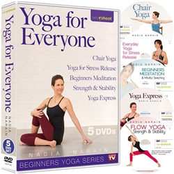Yoga for Everyone 5 DVD set - Nadia Narain
