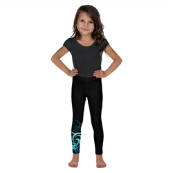 Wave Pattern Toddler & Youth Leggings