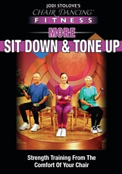 Chair Dancing More Sit Down and Tone It Up  - Jodi Stolove