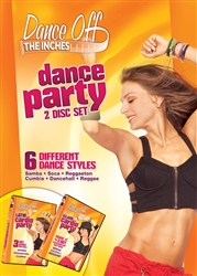 Dance off the Inches Dance Party 2 DVD Set