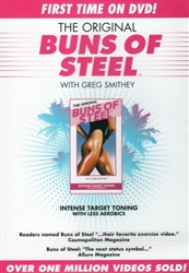 The Original Buns of Steel DVD - Greg Smithey