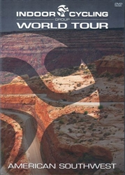Virtual Active Indoor Cycling Group World Tour American Southwest DVD