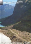 Virtual Active Alberta Rockies Run DVD
