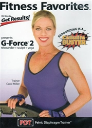 Fitness Favorites G Force Vol 2 Rebounding DVD