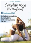 Complete Yoga for Beginners DVD - Koya Webb
