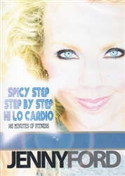 Jenny Ford 3 Workouts DVD - Spicy Step, Hi Lo Cardio, Step By Step