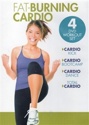 Fat Burning Cardio 4 DVD Set