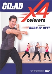 Gilad's Xcelerate-4 Volume 1: Burn It Off