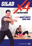 Gilad's Xcelerate-4 Volume 3: Best Butt & Abs
