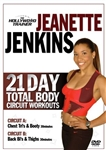 21 Day Total Body Circuit Workout The Hollywood Trainer DVD With Jeanette Jenkins