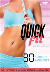 Quick Fit with Andrea Metcalf DVD