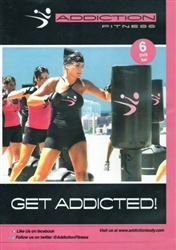The Addiction Workout 6 DVD Set - Merle Silver