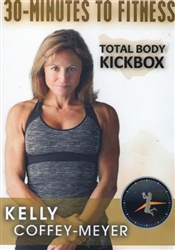 30 Minutes to Fitness Total Body Kickbox DVD - Kelly Coffey-Meyer