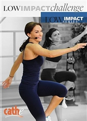 Cathe Friedrich Low Impact Series Low Impact Challenge Step DVD