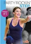 Cathe Party Rockin' Step Workout #1 DVD