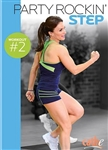 Cathe Party Rockin' Step Workout #2 DVD