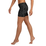 All Over Samoan Tattoo Pattern Women's Crossfit / Athletic Shorts