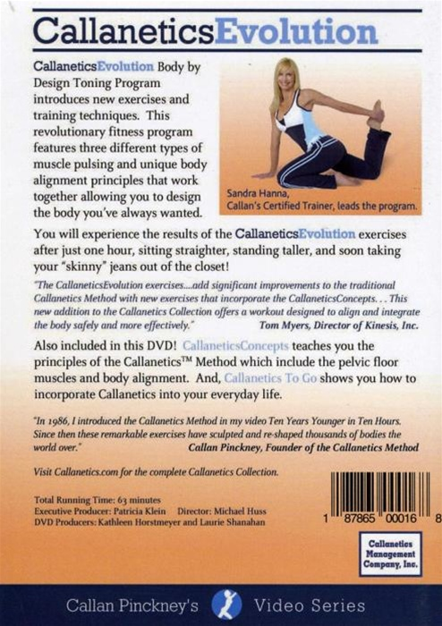 callanetics exercises list
