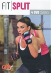 Fit Split Workout Series 4 DVD Set - Cathe Friedrich