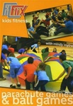 Kids Fitness Parachute Games And Ball Games DVD