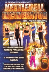 Kettlebell Incinerator 2 DVD Set- Lauren Brooks