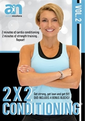 Aimee Nicotera's 2 X 2 Conditioning Volume 2 DVD
