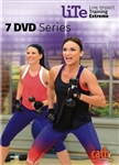 Cathe Friedrich LITE Series (Low Impact Training Extreme) 7 DVD Set