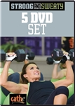 Strong and Sweaty 5 DVD Set - Cathe Friedrich