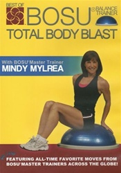 Mindy Mylrea Bosu Total Body Blast DVD