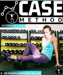The Case Method HIIT workout USB Drive (NOT DVD) - Stephanie Lauren - 5 Workouts