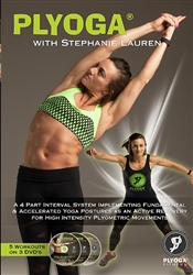 Plyoga 3 DVD Set - Stephanie Lauren