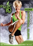 Peak 10 More Cardio Interval Burn DVD - Michelle Dozois