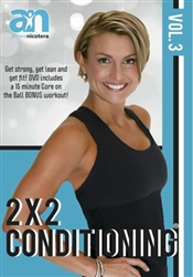 Aimee Nicotera's 2 X 2 Conditioning Volume 3 DVD