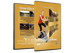 Thailand Temples and Gardens Virtual Cycle Ride or Treadmill Workout - The Ambient Collection