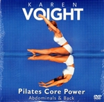 Karen Voight Pilates Core Power Abdominals & Back DVD