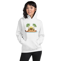 Christmas in Hawaii - Happy Huladays / Mele Kalikimaka Unisex Hoodie
