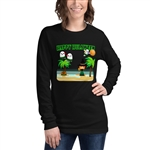 Halloween - Happy Hulaween Women's Long Sleeve T-Shirt
