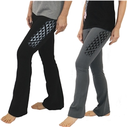 Cotton Spandex Long Yoga Pants - Kuahiwi Collection