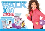 Leslie Sansone Just Walk 30 Day Walk off Kit - 3 DVDs and Band with Meal Plan