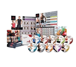 Peak Fit Challenge 10 DVD System Collection - Michelle Dozois