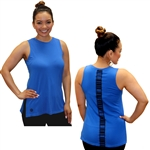 Women's Cotton / Spandex Super Soft Tank - Samoan Tattoo Kuahiwi Design