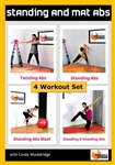 Standing and Mat Abs 4 Workouts - Barlates Body Blitz - DVD-R