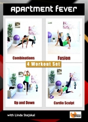Apartment Fever 4 Workouts - Barlates Body Blitz - DVD-R