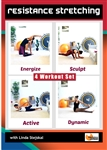 Resistance Stretching 4 Workouts - Barlates Body Blitz - DVD-R